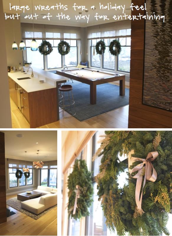 Kristina Crestin Design_Big P holiday decor LR Lounge