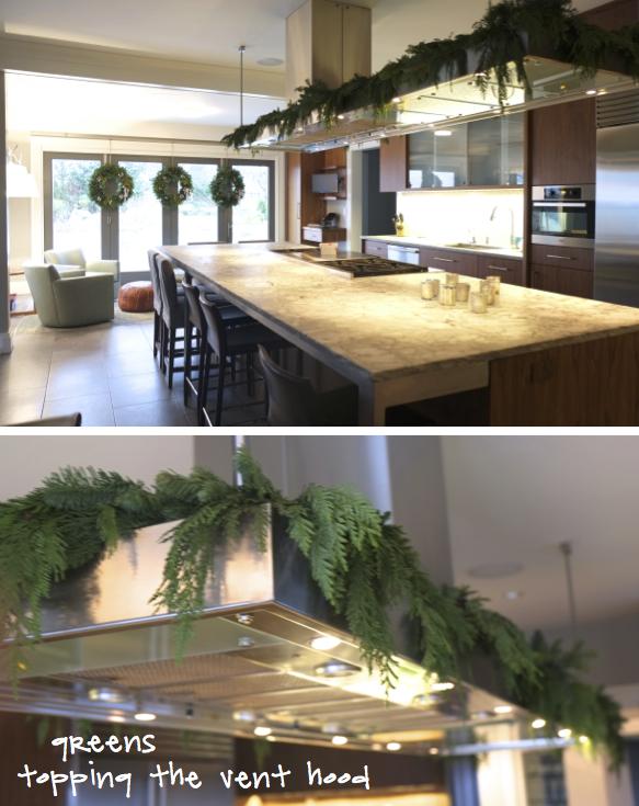 Kristina Crestin Design_Big P holiday decor kitchen