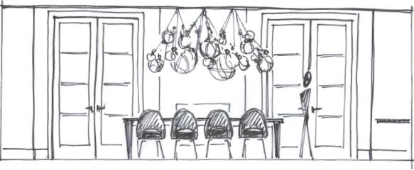 Kristina Crestin Design_knotty bubbles sketch