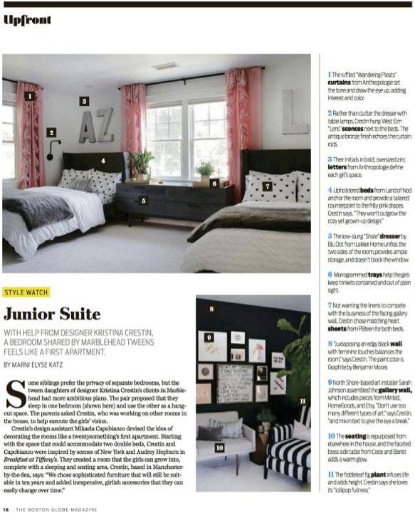 Kristina Crestin Design_Boston Globe Magazine