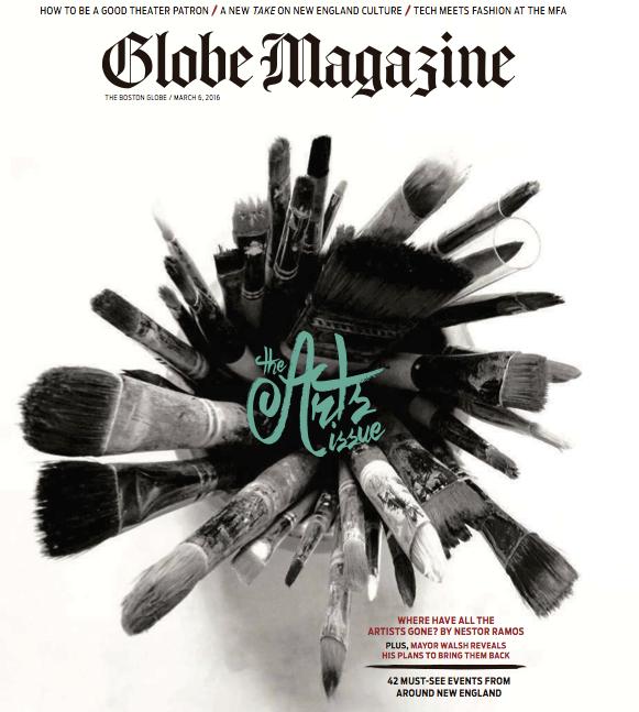 Kristina Crestin Design_Boston Globe Magazine cover