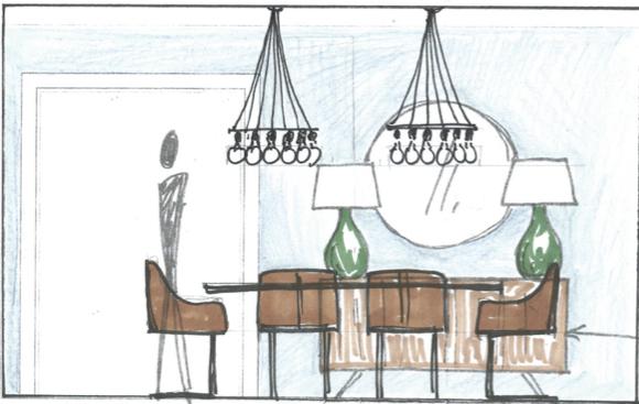 Kristina Crestin Design This Old House - Northshore farmhouse_Dining Room 2